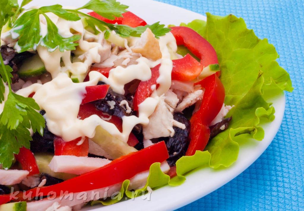 салат фаворит пошаговый рецепт с фото